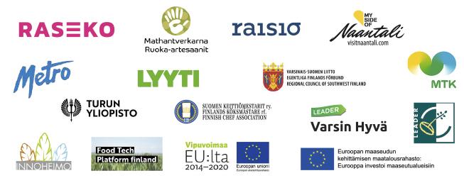 Artesaaniruoka SM 2020 sponsorien logot